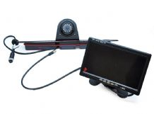 Mercedes Sprinter LED Brake Light Rear View Reversing Camera 7 inch Dashboard Monitor Kit